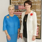 Ambassador Mary Ourisman, Suzanne Niedland - Photo © Jacek Gancarz