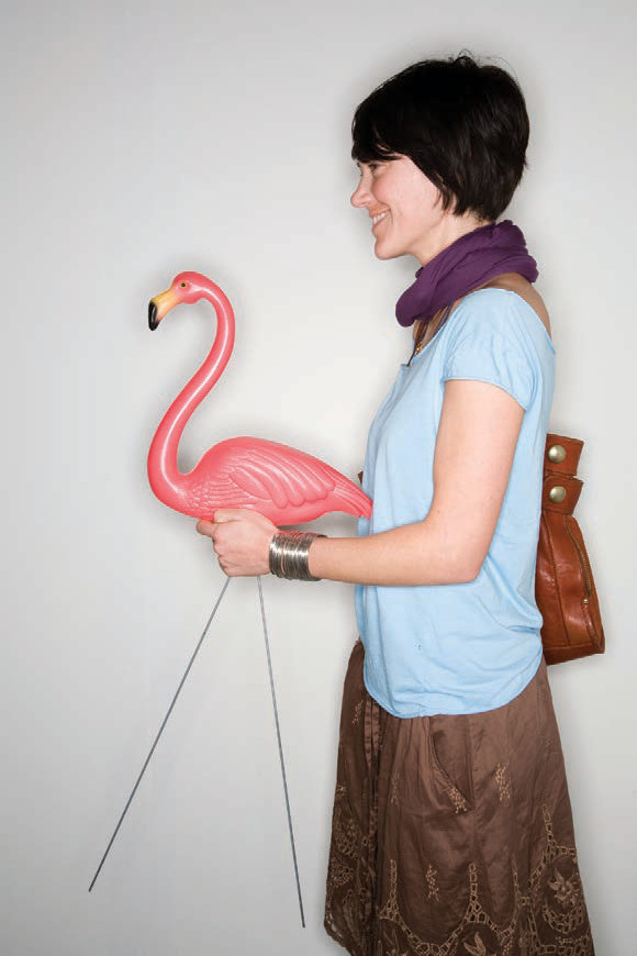 """Jacek Gancarz, selection from """"The Last Pink Flamingo Project"""""""