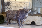 Large Ming Dynasty ceramic cow