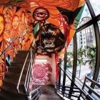 Evernia Garage Mural: Ruben Ubiera