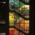 Evernia Garage Mural. Photo by Greg Dillard