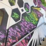 Evernia Garage Mural: Paul Hughes