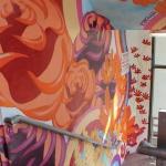 Evernia Garage Mural: Kazilla