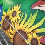 Evernia Garage Mural: J Bellicchi