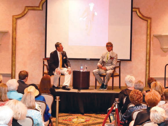 Rob Russell interviews Tommy Tune at Culture & Cocktails