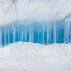 "Ice Vein: ""This is a shot taken topside of a weather-made crack in a 35,000-year-old iceberg."" Chris Leidy"