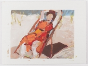 <i>Girl at the Beach</i> (2016), Eleanor Woolems