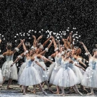 Miami City Ballet dancers in George Balanchine's The Nutcracker™. Choreography by George Balanchine ©The George Balanchine Trust. Photo ©Daniel Azoulay.
