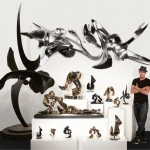 Alexander Krivosheiw in his West Palm Beach studio