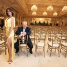 Melania and Donald Trump, Photo from Palm Beach People, © Harry Benson