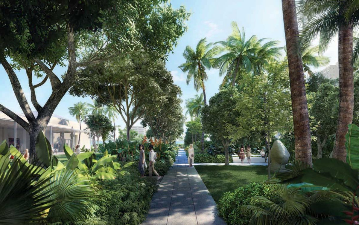 The Pamela and Robert B. Goergen Garden, Designed By Foster + Partners