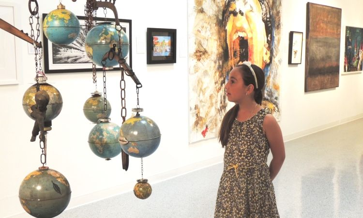 Cultural Council Gallery Tours for Kids