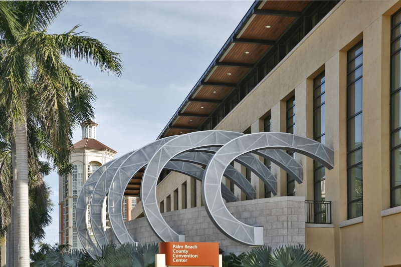 Wave by Barbara Grygutis - Palm Beach County Convention Center
