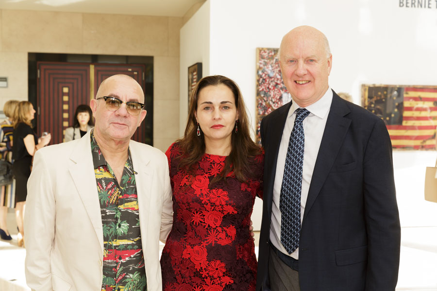 Bernie Taupin, Sandra Safta Waterhouse, Ray Waterhouse - Photo © Jacek Gancarz