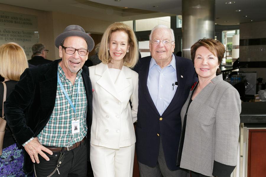 Bruce Helander, Bonnie McElveen-Hunter, Alexander and Renate Dreyfoos - Photo © Jacek Gancarz