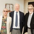Bernie Taupin, Ray Waterhouse and Dana Yarger - Photo © Jacek Gancarz