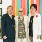 Rena Blades, Bernie Taupin, Suzanne Niedland - Photo © Jacek Gancarz