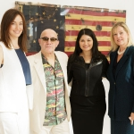 Heather and Bernie Taupin, Peggy Still Johnson, Rena Blades - Photo © Jacek Gancarz