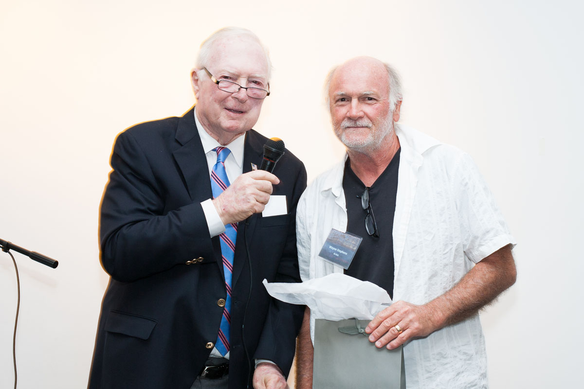 Bert Korman, Chair with Wayne Stephens, photo © Jacek Photo