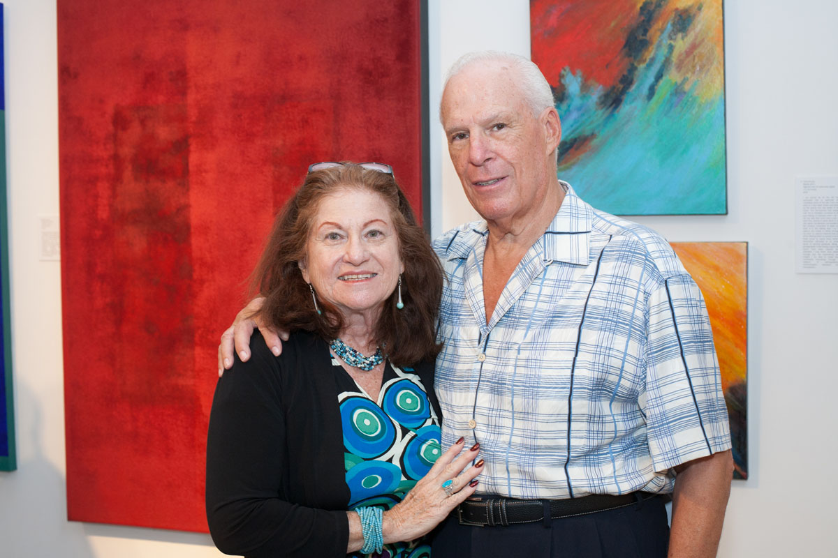 Ann and Don Schwartz, photo © Jacek Photo