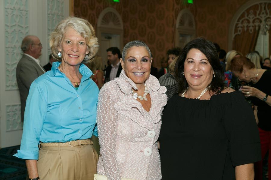 Donna Plasket, Judy Blum, Joanne Polin - Photo © JACEK Photo