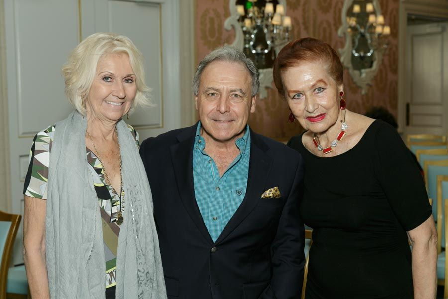 Florence Berney, Peter Rains, Skira Watson - Photo © JACEK Photo