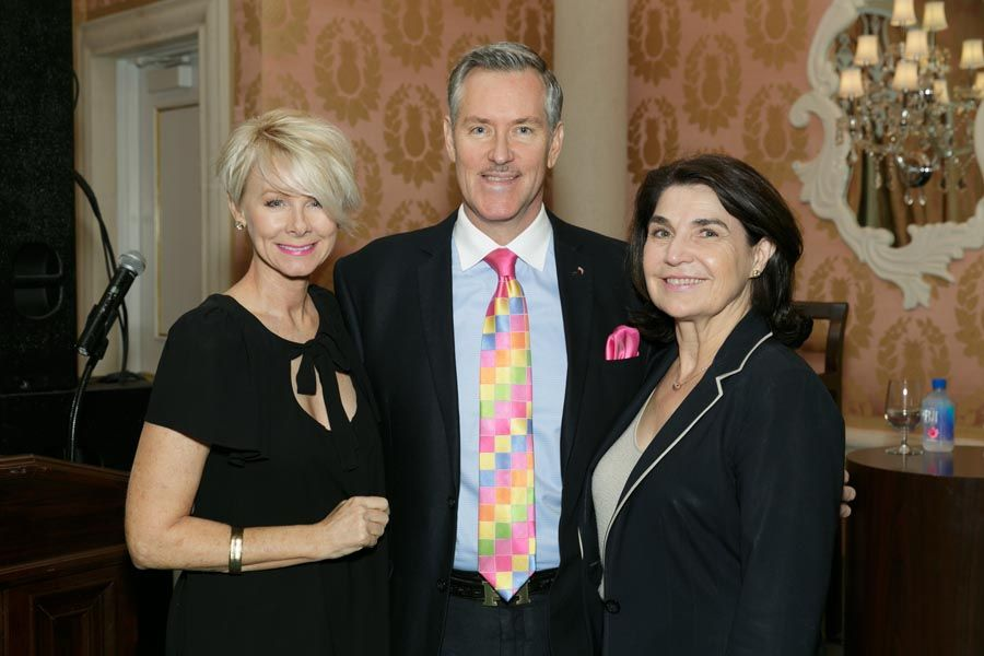 Jill Switzer, Rob Russell, Joanne Moeller - Photo © JACEK Photo