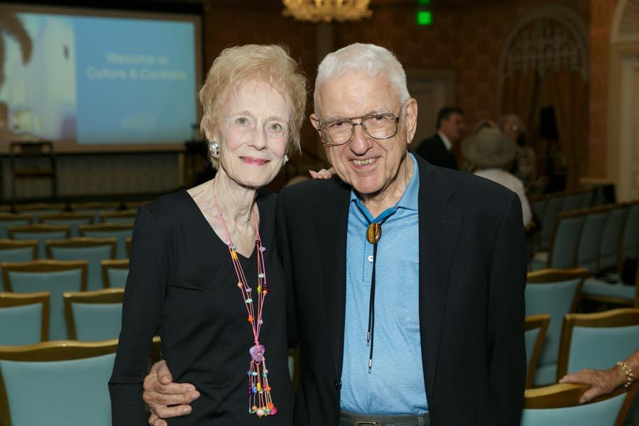 Mary K. & Dr. Robert Flucke - Photo © JACEK Photo