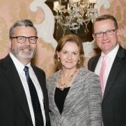 Brian Kennedy, Kathy Strother, Graham Davidson - Photo © JACEK Photo