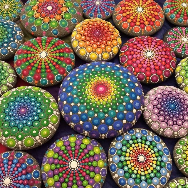 Lake Worth Rocks How to Paint Mandala Rocks