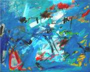 <i>Blue Mood</i>, 2008, oil on linen, 24 x 30 inches