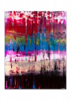 """<i>Iceland</i>, acrylic on canvas, 48"""" x 60"""""""