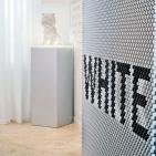 <i>Black & White</i>, Juro Kralik; <i>Puppy</i>, Jeff Koons