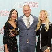 Claire Trehan, Justin Perraut, Veronica Clinton - Photo © JACEK Photo