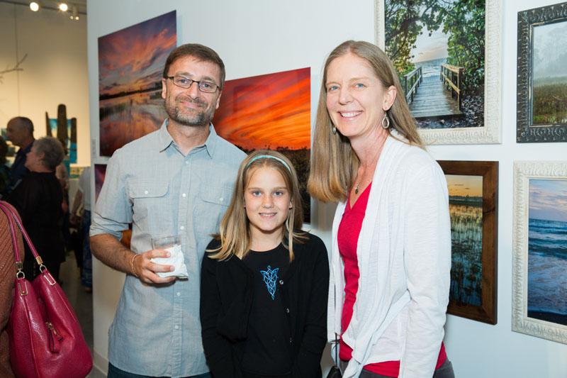 Matt, Sarah and Kristina King, Photo Credit: JACEK PHOTO