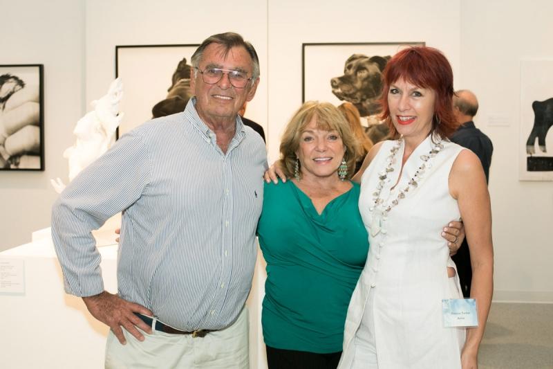 Chet Micciche, Peg Micciche, Yvonne Parker. Photo Credit: Jacek Photo