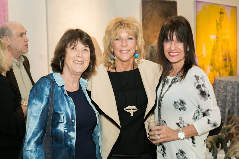 Elle Schorr, Debbie Mostel, Karene Telesca. Photo Credit: Jacek Photo