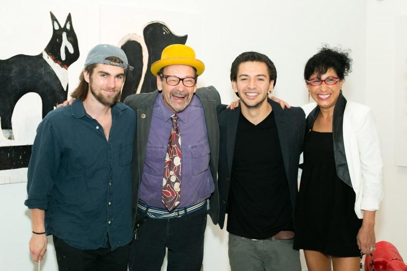 Krystofer Kimmel, Bruce and Claudia Helander, José Gaddi. Photo Credit: Jacek Photo