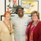 Jean Hutchison, Anthony Burks Sr., Melinda Moore. Photo Credit: Jacek Photo