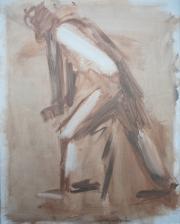 <i>Art Energy 1</i>, oil on canvas, 16 x 20
