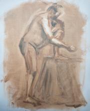 <i>Art Energy 11</i>, oil on canvas, 16 x 20