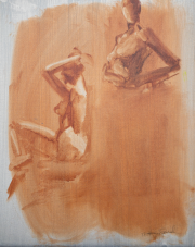 <i>Art Energy 12</i>, oil on canvas, 16 x 20