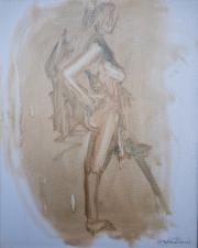 <i>Art Energy 13</i>, oil on canvas, 16 x 20