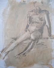 <i>Art Energy 14</i>, oil on canvas, 16 x 20