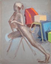 <i>Art Energy 16</i>, oil on canvas, 16 x 20