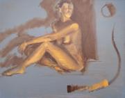 <i>Art Energy 17</i>, oil on canvas, 16 x 20