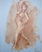<i>Art Energy 18</i>, oil on canvas, 16 x 20