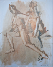 <i>Art Energy 2</i>, oil on canvas, 16 x 20