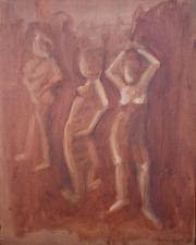 <i>Art Energy 3</i>, oil on canvas, 16 x 20