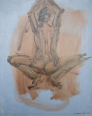 <i>Art Energy 4</i>, oil on canvas, 16 x 20